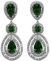 full size of lighting stunning emerald chandelier earrings 1 louisa green pear double halo dangle cubic