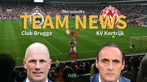 First Division A News: Club Brugge vs KV Kortrijk Confirmed Line-ups