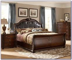 upholstered leather sleigh bed. King Size Bed Base Tufted Sleigh Trundle Upholstered Leather U