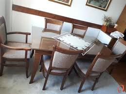 kitchen and dining room chairs 6 chair dining table set hafoti of kitchen and dining room