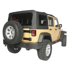 soft top black diamond vinyl 10 18 jeep wrangler jku