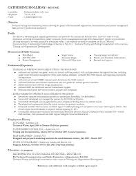 Technical Writer Resumes Resume For Your Job Application