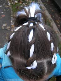Halloween Holiday Hair Rope Twisty Braids