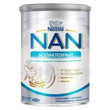 <b>Nan</b> безлактозный <b>смесь сухая</b> для детей с рождения 400,0 ...