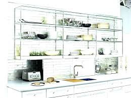 extra shelves for kitchen cabinets open shelving under ikea