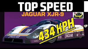 434 KPH Jaguar XJR-9 Top Speed Real Racing 3 - YouTube