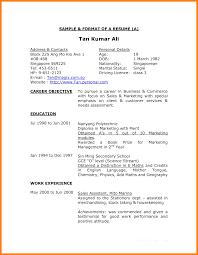 Proper Format For Resume Resume Online Builder