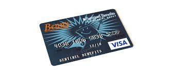 the benny card looks and acts just like a debit card only it s preloaded with reimburt account dollars