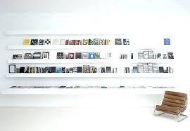white wall bookcase lovely bookshelf mounted shelves pottery barn unit bookshelves stairway boo