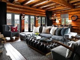 Modern cabin interior design California Desert Interior Living Room Log Cabin Interior Design Next Luxury Top 60 Best Log Cabin Interior Design Ideas Mountain Retreat Homes