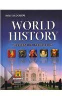World History Patterns Of Interaction Online Textbook Enchanting 48th And 48th Grade World History And Honors World History I Textbook