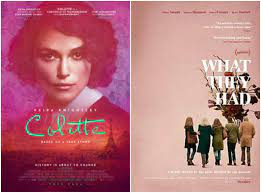 F This Movie!: Review: COLETTE & WHAT THEY HAD