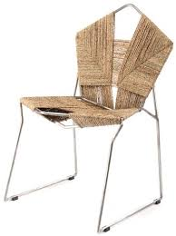 woven metal furniture. Metal Frame Woven Rope Chair Contemporary Furniture E