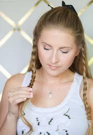 Headband Hair Style easy braided headband hair tutorial ashley brooke 2647 by wearticles.com