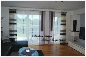 Moderne Gardinen Für Das Wohnzimmer Gardinen Bodentiefe Fenster