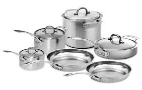 viking cookware set. Simple Set Viking V7 Stainless Steel Cookware Set 10piece With S
