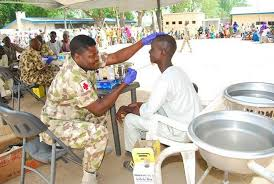 Image result for Nigerian Airforce gives free medical service