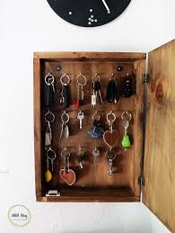 key organizer box. Unique Box DIY Home Decor Recycling Sewing Jewelry Making A Lot Of Awesome  Tutorials To Get Inspired By Inside Key Organizer Box
