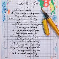 Bộ sưu tập mẫu chữ đẹp đơn giản dùng trong luyện chữ