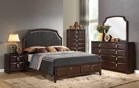 Lancaster Bedroom Furniture Acme 24567ek Lancaster Espresso Eastern King Bedroom Set
