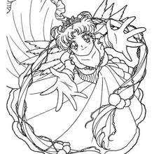 Small Picture Sailor moon and sailor chibi moon coloring pages Hellokidscom