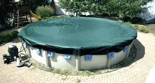 24 round pool cover winter for yr silver x