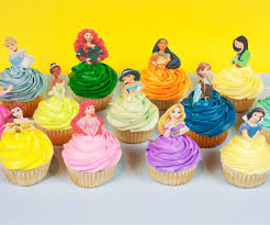 Disney Princess Cake Pop Toppers