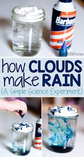 best kindergarten science projects ideas  simple science experiment how clouds make rain mjcs