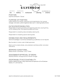 Waiter Job Description Resume Server Job Description For Resume Cover Letter 54