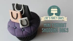 mini fondant ping bags miniature gum paste cake toppers how to make tutorials you