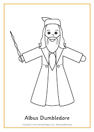 Harry Potter Coloring Pages With Colouring Page For Make Awesome