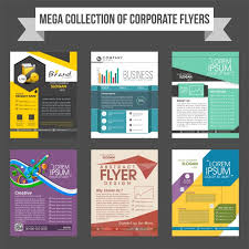 Presentation Flyers Download Vector Mega Collection Of Corporate Flyers Or