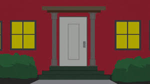 scared open door gif by south park