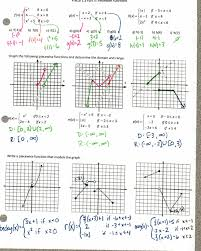 worksheets quadratic functions worksheet inequalities lovely characteristics image