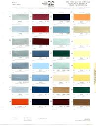 Sem Leather Paint Color Chart