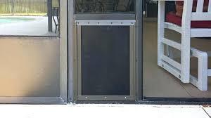 dog door installation sliding glass pet door freedom aluminum patio panel sliding glass pet door hale