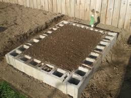 Small Picture Raised garden bed made out of cinder block Will be so much