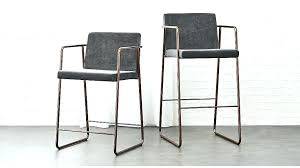 gray leather counter stools bar grey upholstered 3 cosmopolitan stool set of 2 free shipping height o82