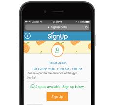 Easy Sign Up Sheet Free Online Signup Sheets Volunteer Scheduling Software And