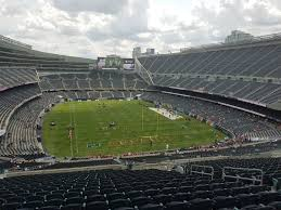 Chicago Bears Soldier Field Seating Chart Chicago Bears Seating Guide Soldier Field Rateyourseats Com