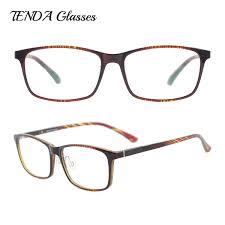 Designer Spectacle Frames Us 16 12 15 Off Women Colorful Light Tr90 Plastic Spectacle Frames Men Fashion Glasses Designer Prescription Eyewear In Mens Eyewear Frames From