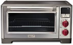 wolf gourmet wgco100s 1 1 cu ft countertop convection oven