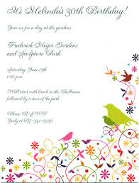 birthday party invitation template word template birthday party invitation template word