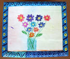 Как оформить рамку для детских рисунков своими руками