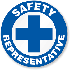 safety representitive hard hat decals safety representative signs sku hh 0100