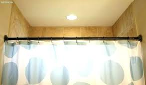 curved double shower curtain rods shower curtain rod no in shower curtain rod no