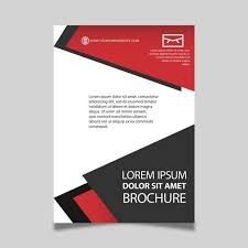 Downloadable Brochure Templates Red Black And White Brochure Template For Free Download On Pngtree