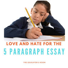 love and hate for the paragraph essay the educators room 5 paragraph essay