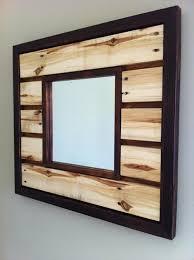 pallet picture frame holder. pallet mirror frame design picture holder