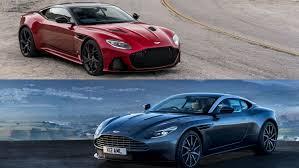 Comparison 2019 Aston Martin Dbs Superleggera Vs Aston Martin Db11 Top Speed Aston Martin Dbs New Aston Martin Aston Martin